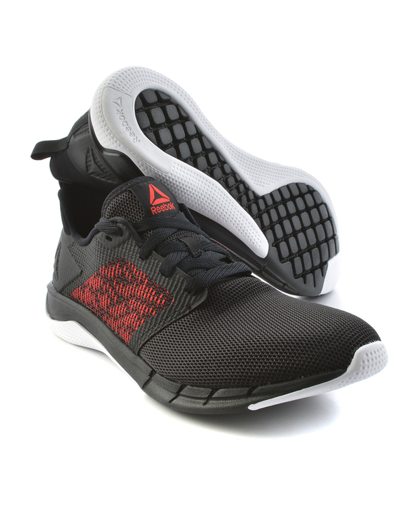 Reebok Print Run 3 0 Cn7212 Black Wht Red