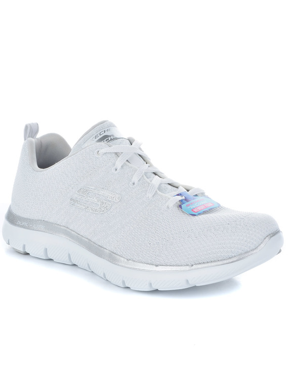 SKECHERS BUTY FLEX APPEAL 2.0 OPEN WHITE