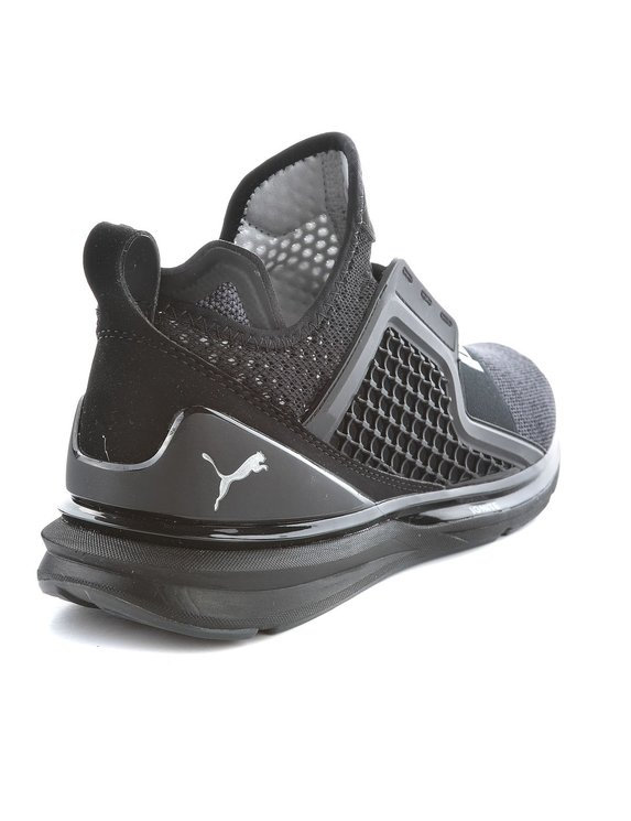 PUMA BUTY IGNITE LIMITLESS KNIT BLACK