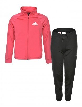 ADIDAS DRES FZ TRACK JACKET YG S ENTRY TS PINK