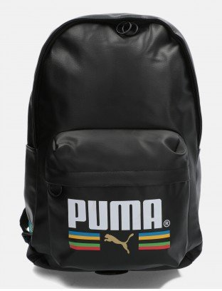 PUMA PLECAK DUŻY ORIGINALS PU BACKPACK TFS BLACK
