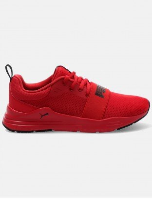 Puma buty wired run jr high risk red